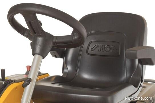 Stiga Park Pro 540 IX + Park 110 Combi Pro EL QF leikkuupöytä