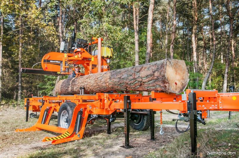 Wood-Mizer tukkivannesaha wood processing - Nettikone