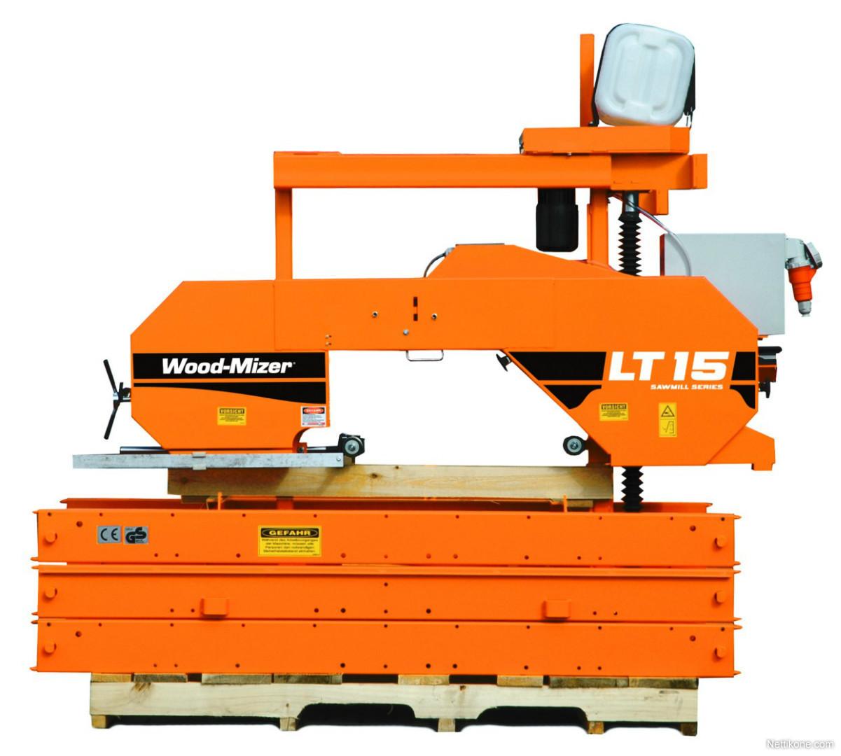 Wood-Mizer tukkivannesaha puuntyöstökone - Nettikone